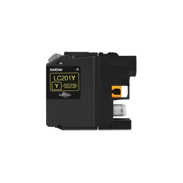 Brother LC201Y Brother Innobella LC201Y Ink Cartridge - Yellow - Inkjet - Standard Yield - 260 Page - OEM