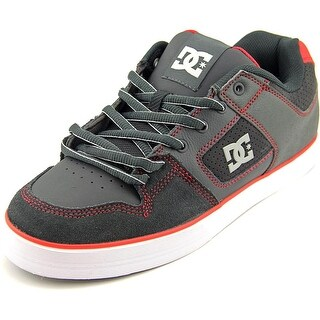 DC Shoes Pure Slim Men Round Toe Leather Skate Shoe