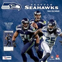 Seattle Seahawks Wall Calendar, Seattle Seahawks by Turner Licensing