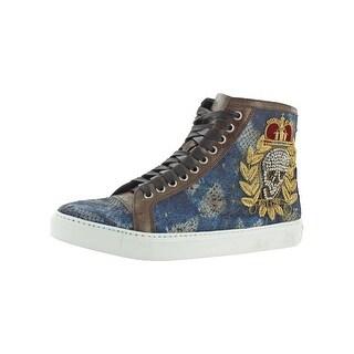 Donald J. Pliner Mens Lajos Fashion Sneakers High Top