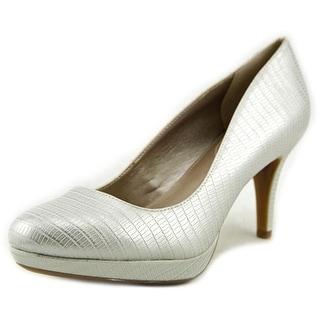 Alfani Madyson Open Toe Synthetic Platform Heel