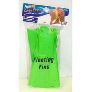 Aqua Leisure AQF2030 Deluxe Sea Glide Swim Fins, Assorted Color, Sizes 5-8