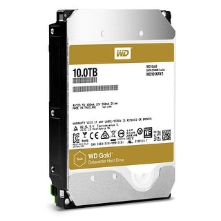 Western Digital Gold 10Tb Datacenter Hard Disk Drive Class Sata 6 Gb/S 7200 Rpm 256Mb Cache 3.5-Inch Form Factor (Wd101k