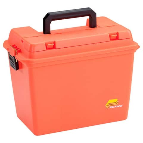 Plano Emergency Supply Box with Large lift-out tray - Orange