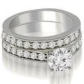 2.40 cttw. 14K White Gold Round Cut Diamond Bridal Set - Thumbnail 0