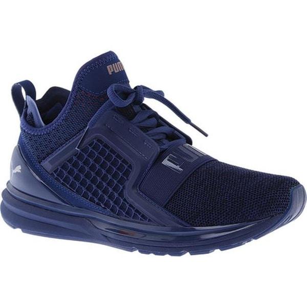 Shop PUMA Men s IGNITE Limitless Training Shoe Blue Depths Toreador ... 715e9759f