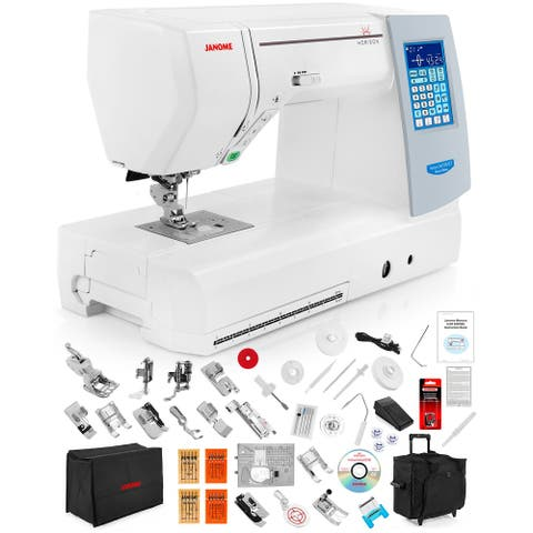 Janome Memory Craft Horizon 8200 QCP Special Edition Computerized Sewing Machine