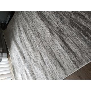 Safavieh Adirondack Vera Ombre Ivory / Silver Rug - 6' x 9'