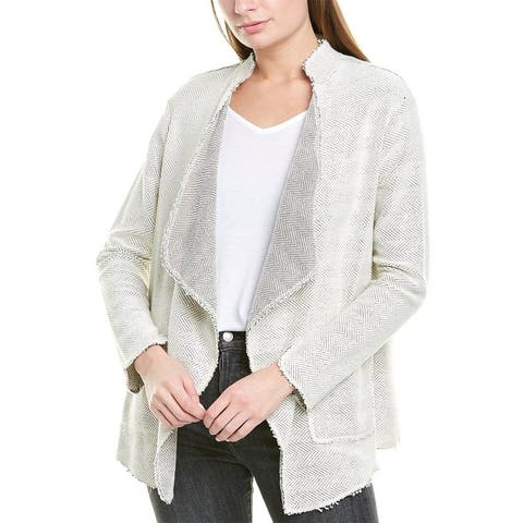 B. New York Open Draped Cardigan