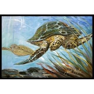 Carolines Treasures JMK1118JMAT Loggerhead Sea Turtle Indoor & Outdoor Mat 24 x 36 in.