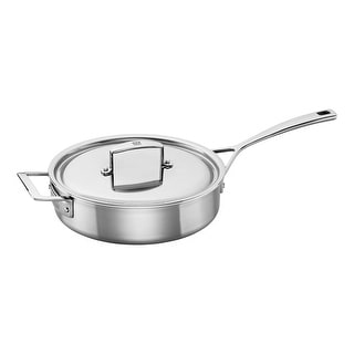 ZWILLING Aurora 5-Ply Stainless Steel 3-Qt. Saute Pan - STAINLESS STEEL
