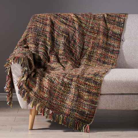 Grasmere Boho Throw Blanket by Christopher Knight Home