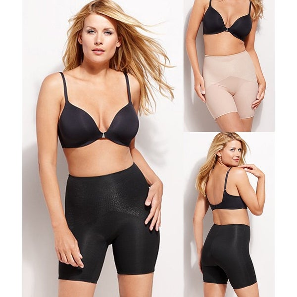 1ce33f0899 Shop Star Power by SPANX Firm Control Lady Luxe Mid-Thigh Slimmer Shapewear  1870 - Free Shipping On Orders Over  45 - Overstock.com - 16821477