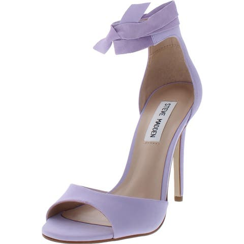 713ed6d3e372 Steve Madden Womens Witty Dress Sandals Leather Stiletto