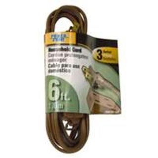 Power Zone OR670606 Extension Cords, Brown