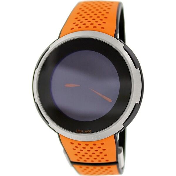 85c6e50267a Shop Gucci Men s I-Gucci Digital Rubber Swiss Quartz Sport Watch ...