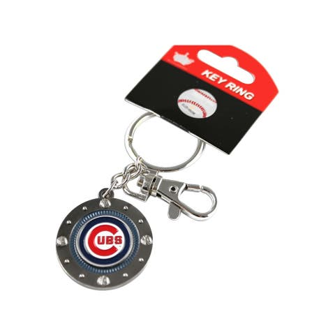 Chicago Cubs MLB Impact Metal Key Ring Keychain