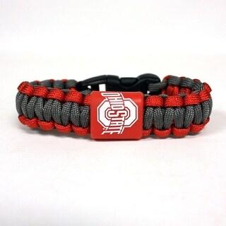 Ohio State University Rope Bracelet