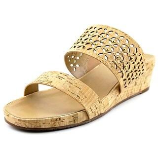 Vaneli Kirima Open Toe Canvas Slides Sandal