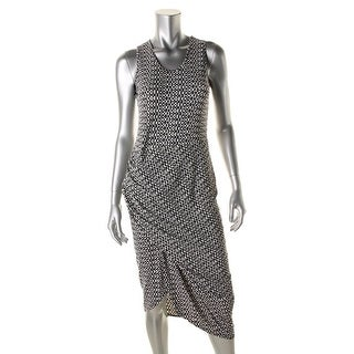 Vince Camuto Womens Party Dress Pattern Gathered - S