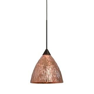 "Besa Lighting 1XT-EVE Eve Single Light 5"" Wide Mini Pendant with Glass Shade"
