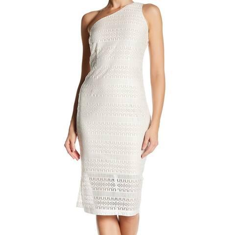 c2627dc95b8 Alexia Admor Women s One-Shoulder Sheath Dress