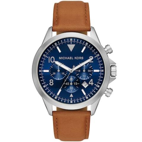 Michael Kors Men's Gage Blue Dial Watch - MK8830 - One Size