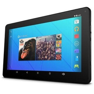 """Ematic Egq223 10"""" 16Gb Android 5.1 Lollipop Touchscreen Tablet Black With Wifi"""