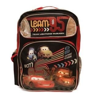 Disney Cars 2 Team Lightning McQueen Large Backpack