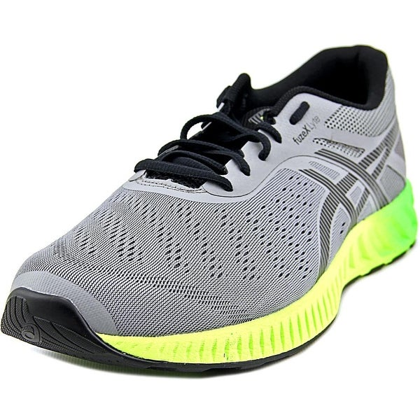 Asics FuzeX Lyte Men Round Toe Synthetic Blue Sneakers