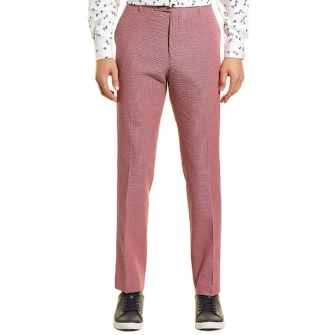Paisley & Gray Downing Slim Fit Seersucker Pant
