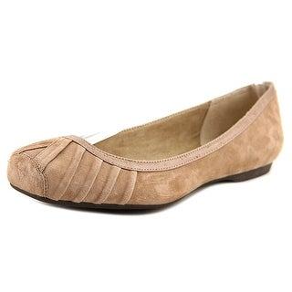 Jessica Simpson Merlie Women Square Toe Suede Brown Flats