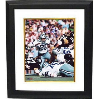 Mel Renfro signed Dallas Cowboys 8x10 Photo HOF 96 Custom Framed