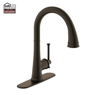 Grohe 30 210 Joliette Traditional Pull Down Spray Kitchen Faucet High Arc  With Single