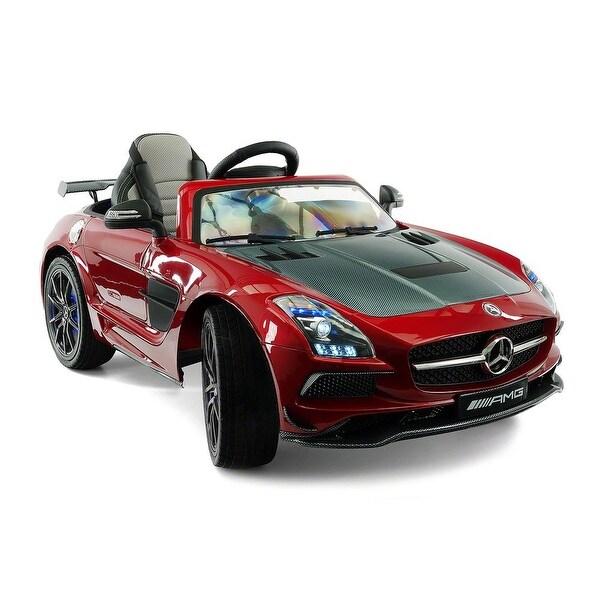Moderno Kids Mercedes SLS AMG Final Edition 12V Kids Ride-On Car with Parental Remote - Red. Opens flyout.