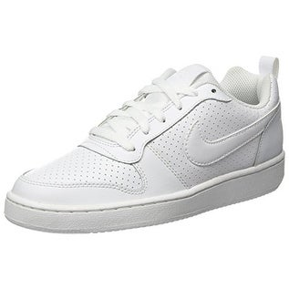 los angeles b1bb7 e1e38 Shop NIKE Men s Court Borough Low Top Sneaker, Comfort, White White, 10 US  M - Free Shipping Today - Overstock - 20976789