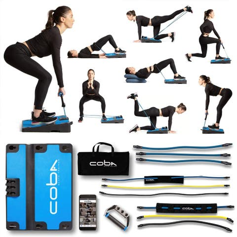 CoBa GLUTE Trainer - Full Home Workout System - 2 Bands