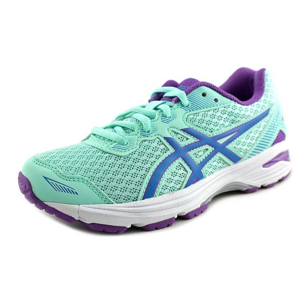 Asics GT-1000 5 Gs Youth Round Toe Synthetic Blue Running Shoe