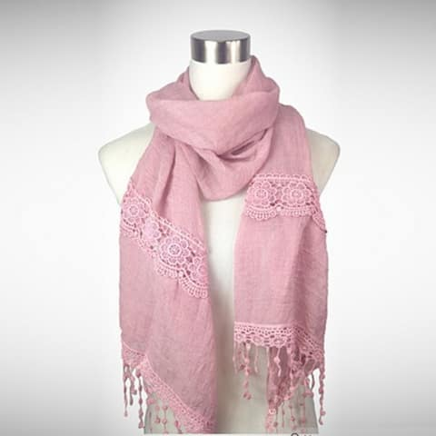 Versatile Vintage - Experience The Sweet Simplicity Of An Embroidered Scarf