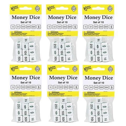 (6 Ea) Money Dice 10 Per Pk