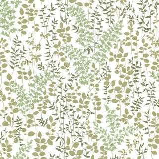 Brewster 347-20124 Dixon Green Forest Leaves Wallpaper