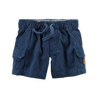 Carter's Baby Boys' Twill Cargo Shorts, 12 Months