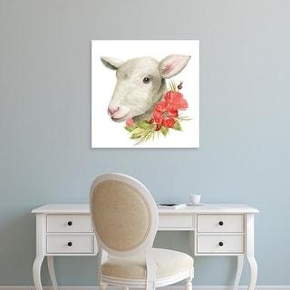 Easy Art Prints Grace Popp's 'Poppy Farm III' Premium Canvas Art