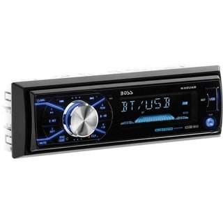 Boss Audio 632UAB Boss Audio 632UAB Single-DIN MECH-LESS Receiver, Bluetooth, Detachable Front Panel, Wireless Remote -