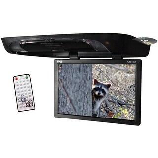 "Pyle 19"" Flip down monitor with DVD Player SD/USB/IR Trans/FM Modulator Remote"