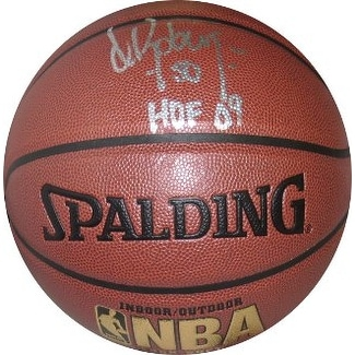 Shop David Robinson Signed Nba Indooroutdoor Basketball