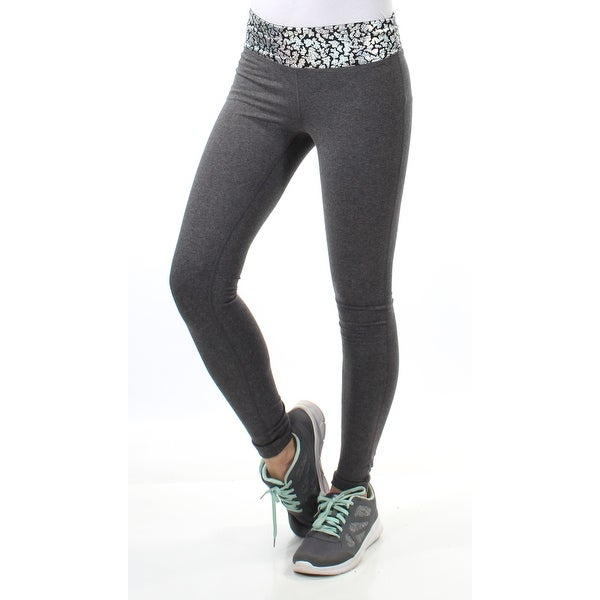 8de587a74f40 Shop Womens Gray Animal Print Active Wear Skinny Pants Size S - Free  Shipping On Orders Over $45 - Overstock - 21388509