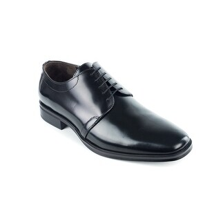 Bruno Magli Mens Santiago Black Leather Derbys Oxfords