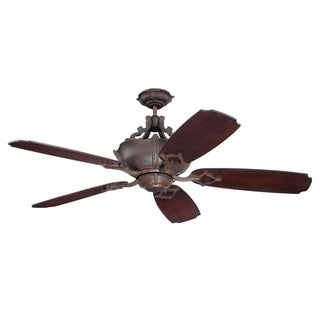 "Craftmade K11061 Wellington XL 54"" 5 Blade Indoor Ceiling Fan with Blades Included"