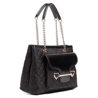 Moschino JC4076 0000 Black Shoulder Bag - 13.5-10-5